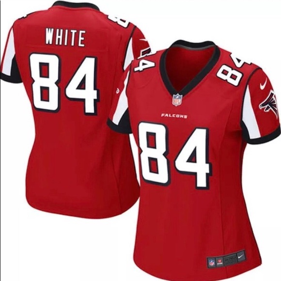 Hot Nike Tops | Womens Red Atlanta Falcons Jersey With Tags | Poshmark  supplier